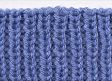 Knit-One Purl-One Bind-Off
